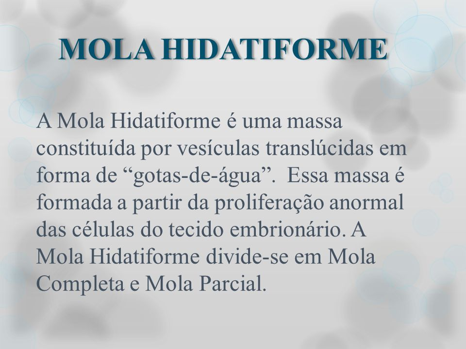 MOLA HIDATIFORME