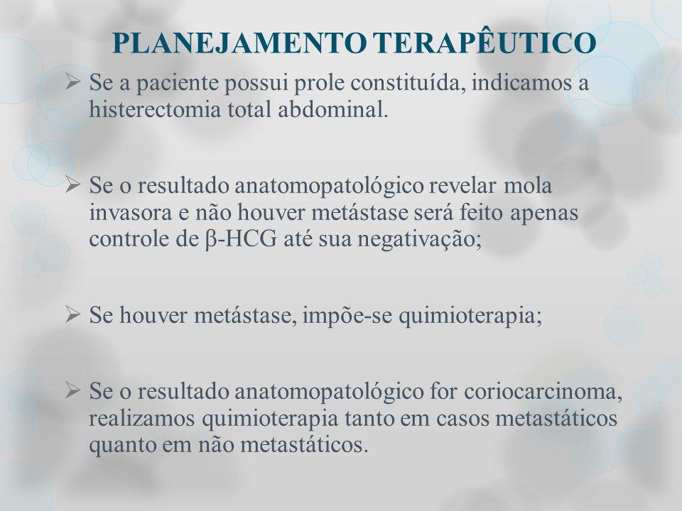 PLANEJAMENTO TERAPÊUTICO