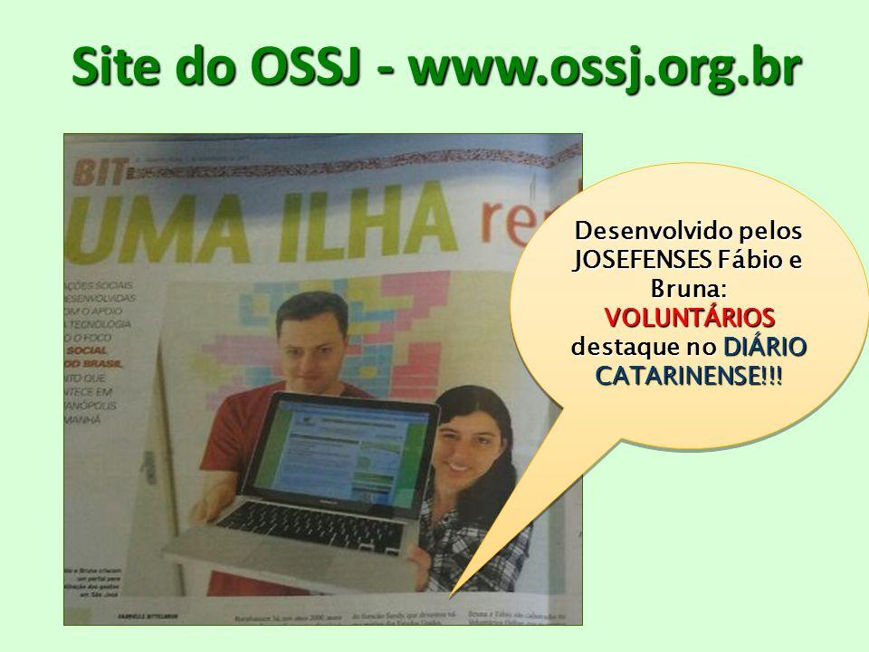 Site do OSSJ - www.ossj.org.br