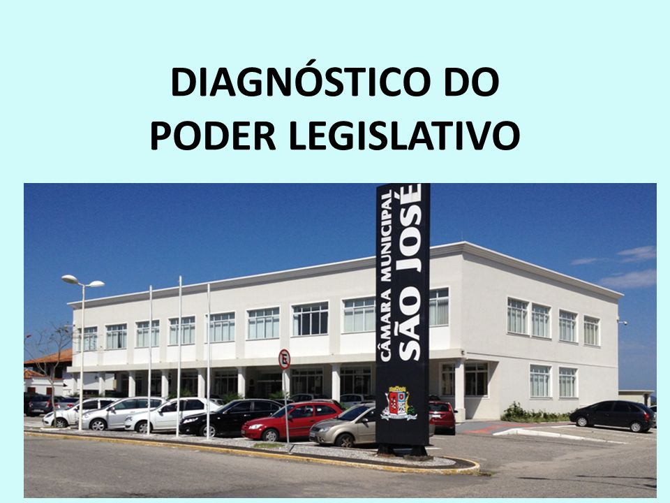 DIAGNÓSTICO DO PODER LEGISLATIVO