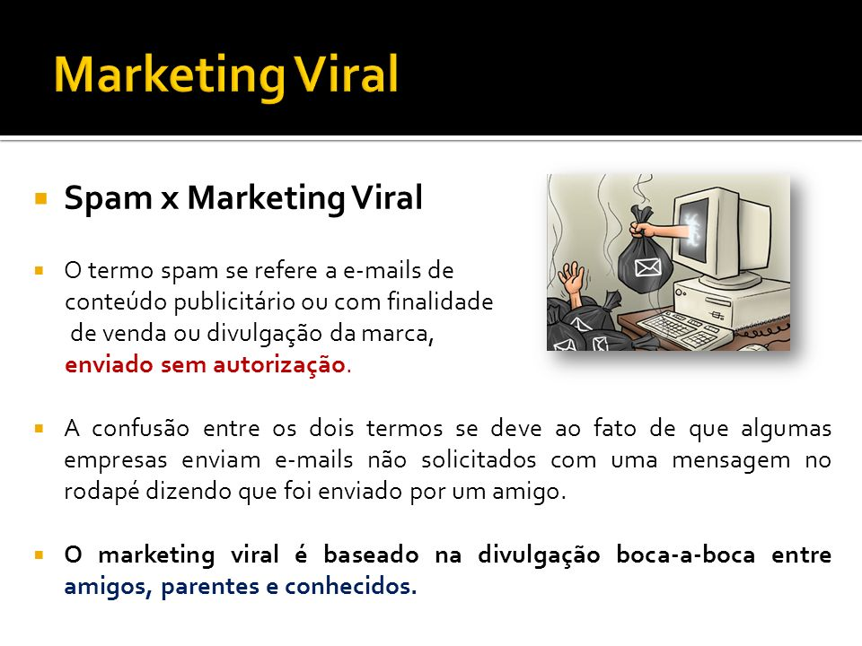Marketing Viral Spam x Marketing Viral