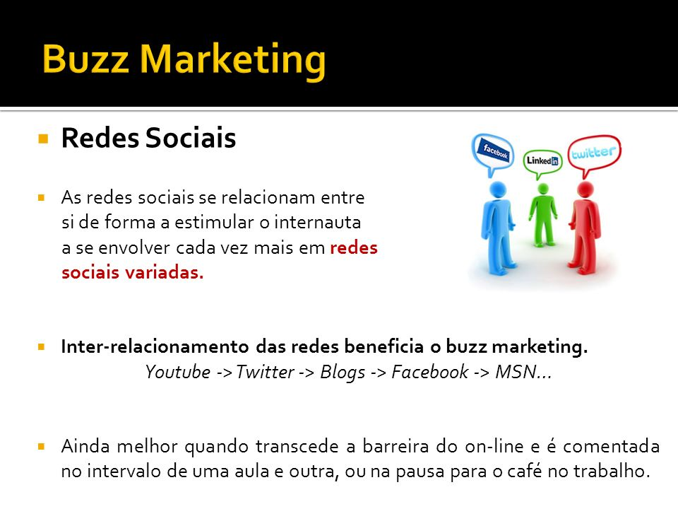 Youtube -> Twitter -> Blogs -> Facebook -> MSN…