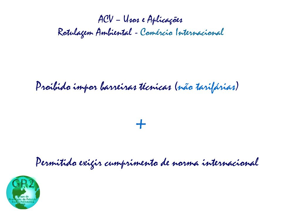 Rotulagem Ambiental - Comércio Internacional