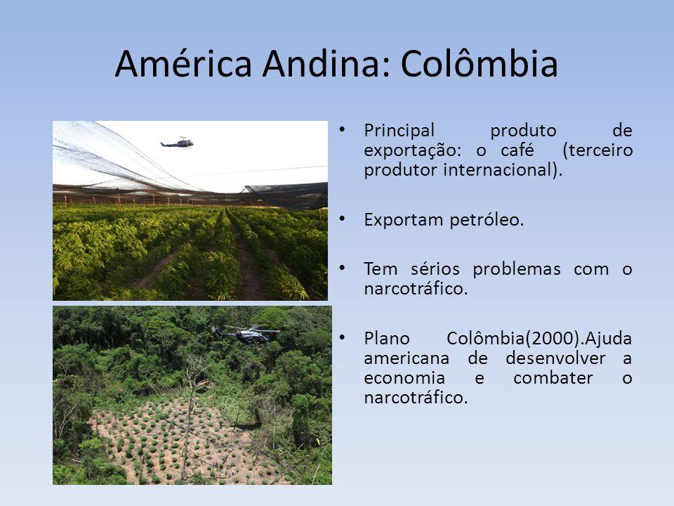 América Andina: Colômbia