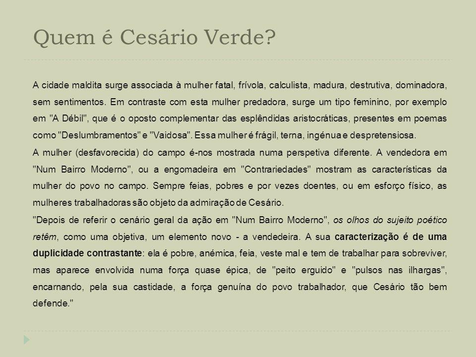 Quem é Cesário Verde