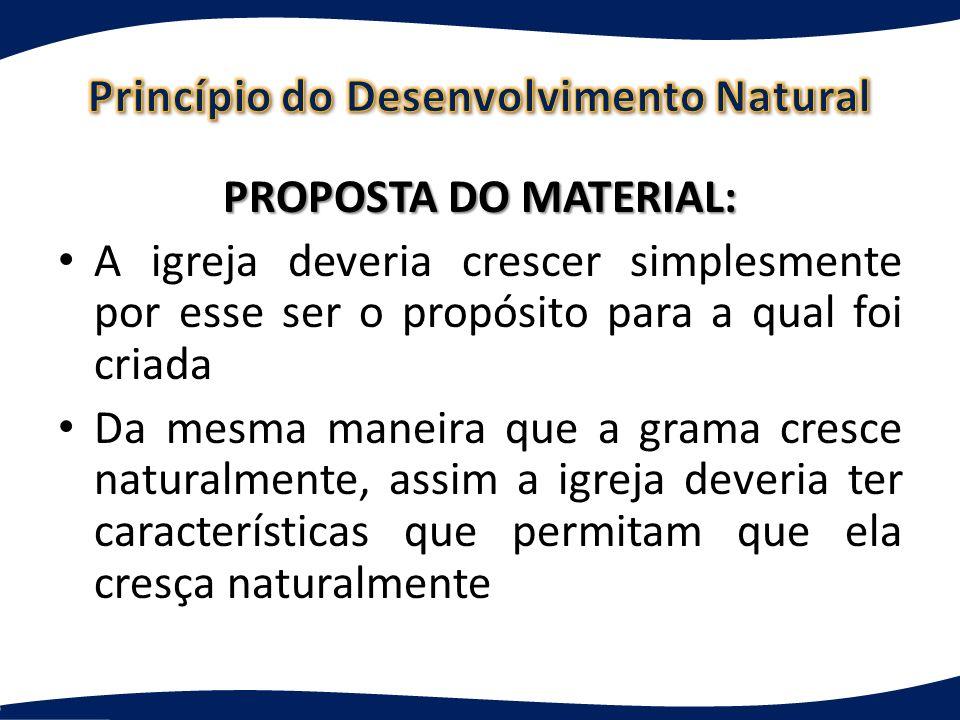 Princípio do Desenvolvimento Natural