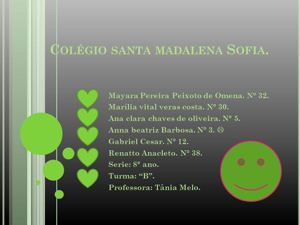 Colégio santa madalena Sofia.