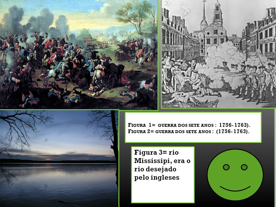 Figura 3= rio Mississipi, era o rio desejado pelo ingleses.