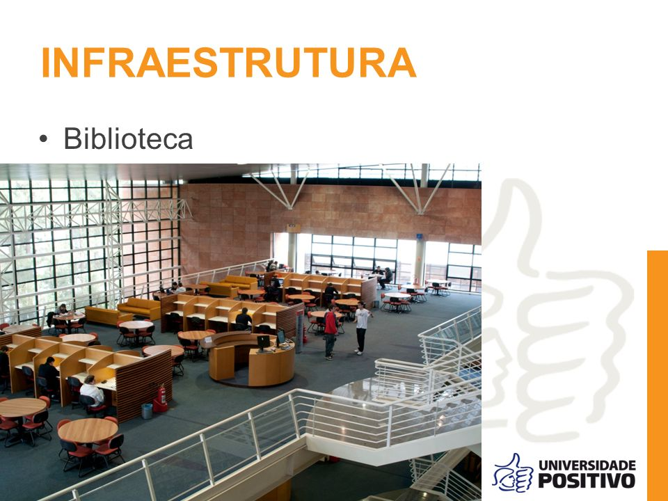 INFRAESTRUTURA Biblioteca