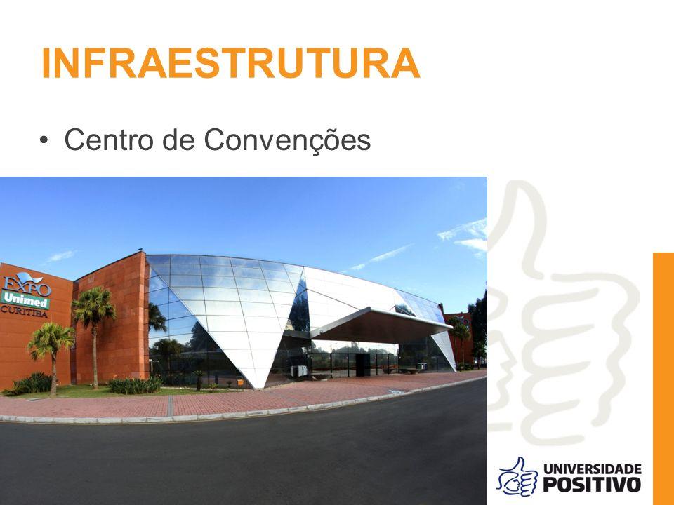INFRAESTRUTURA Centro de Convenções