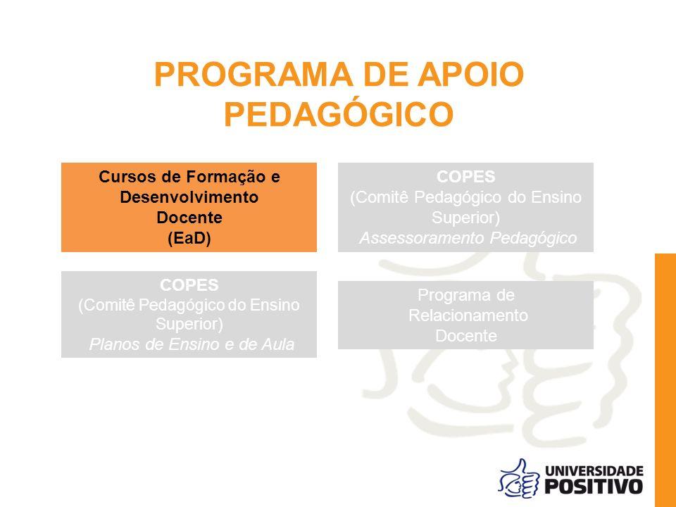 PROGRAMA DE APOIO PEDAGÓGICO
