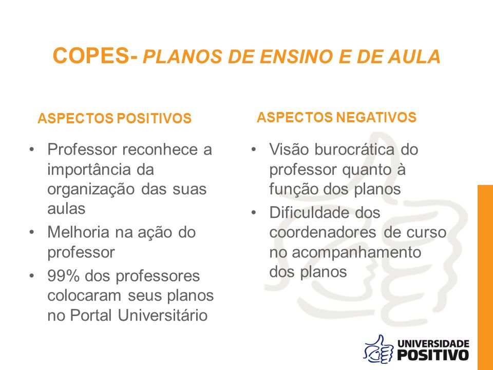 COPES- PLANOS DE ENSINO E DE AULA
