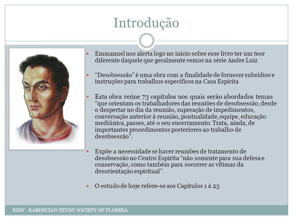 Introdução Emmanuel nos alerta logo no início sobre esse livro ter um teor diferente daquele que geralmente vemos na série Andre Luiz.