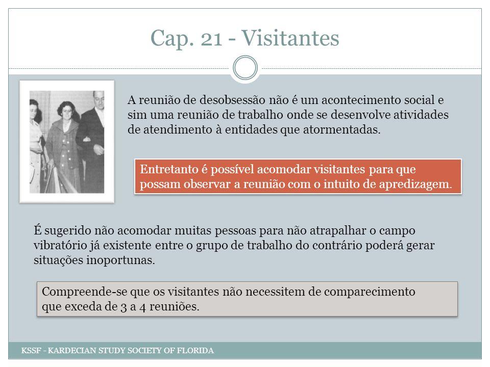 Cap. 21 - Visitantes