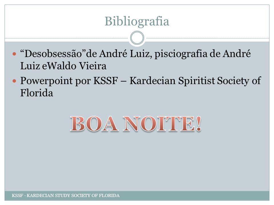 BOA NOITE! Bibliografia