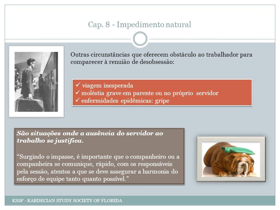 Cap. 8 - Impedimento natural
