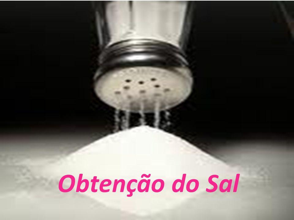 Obtenção do Sal