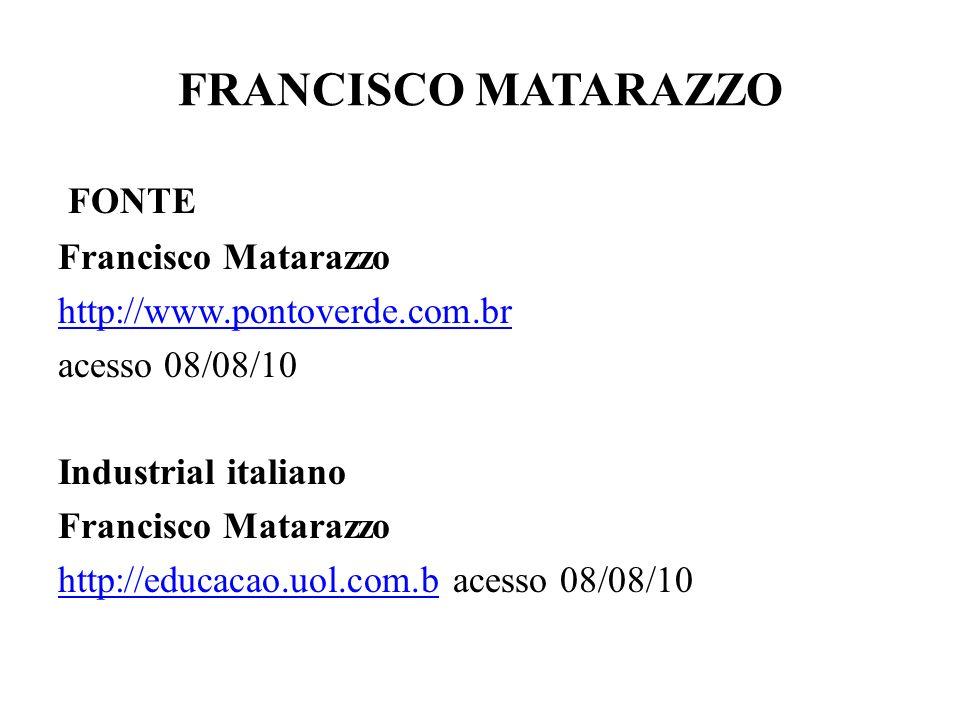 FRANCISCO MATARAZZO FONTE Francisco Matarazzo