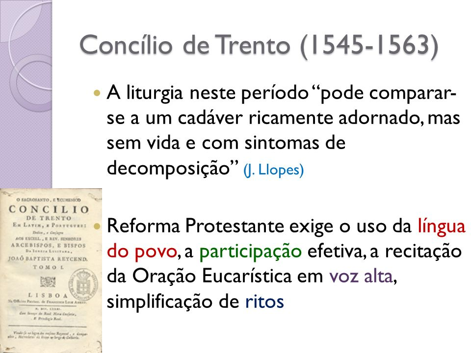 Concílio de Trento (1545-1563)