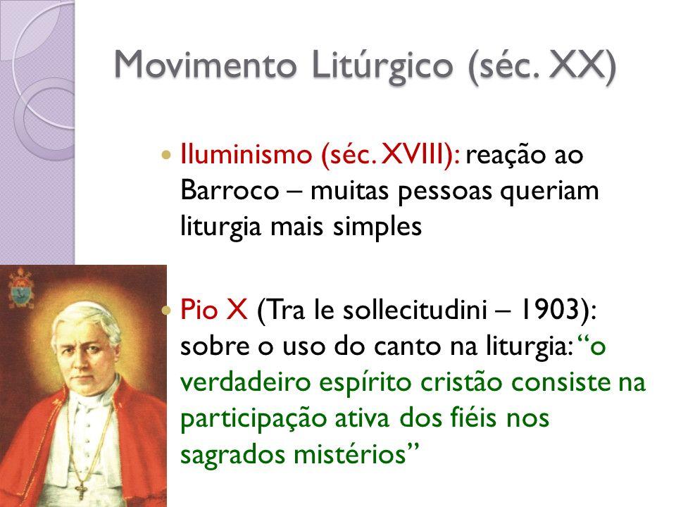 Movimento Litúrgico (séc. XX)