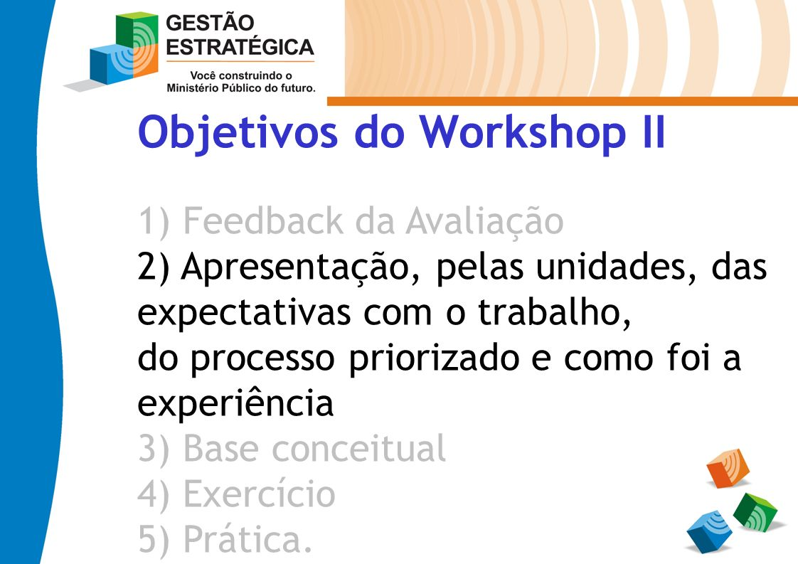 Objetivos do Workshop II