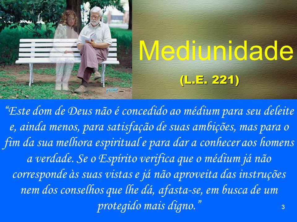 Mediunidade (L.E. 221)