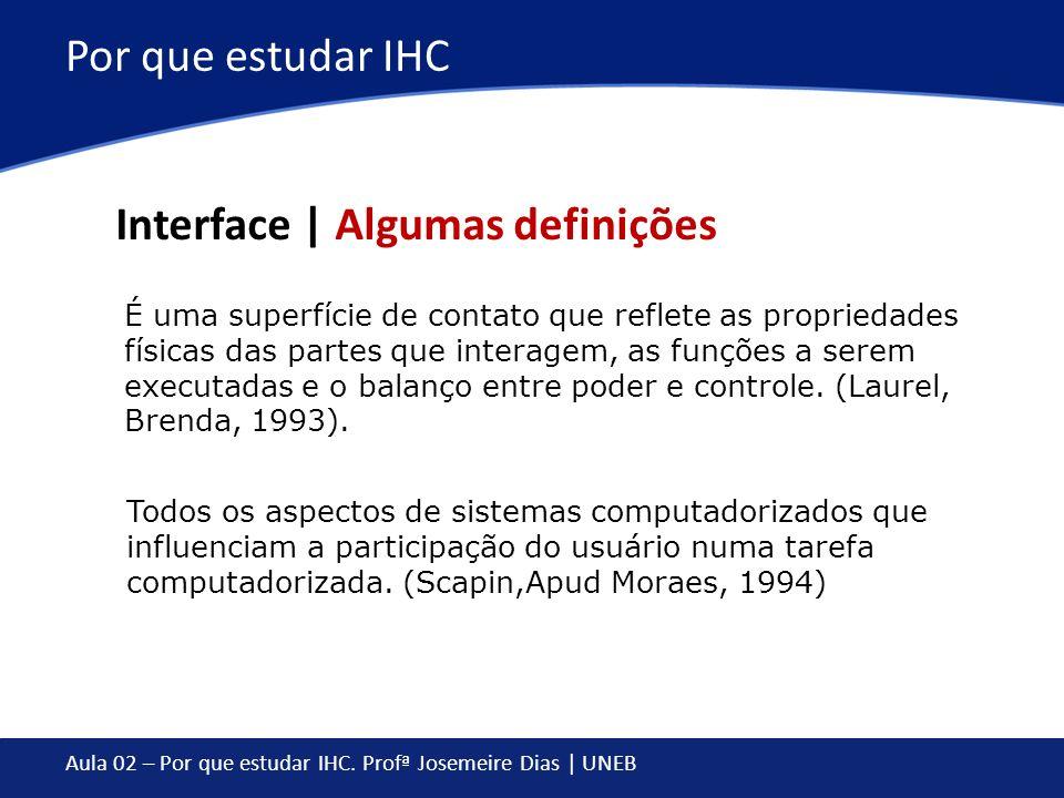Interface | Algumas definições
