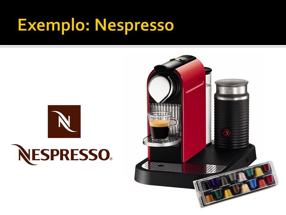 Exemplo: Nespresso
