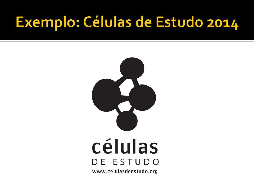 Exemplo: Células de Estudo 2014