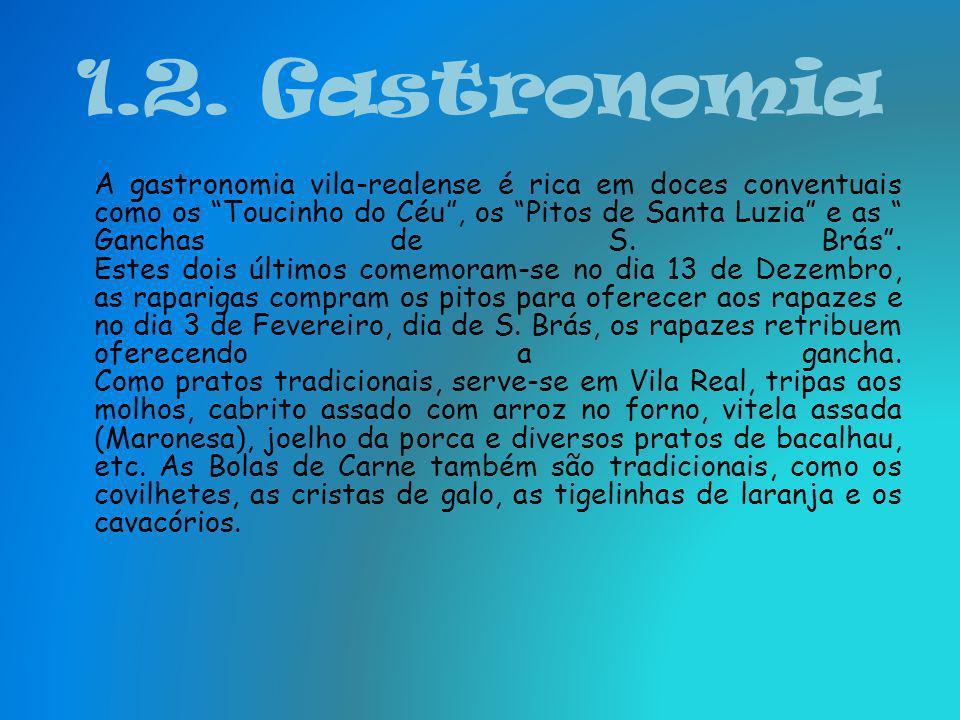 1.2. Gastronomia