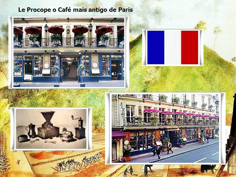 Le Procope o Café mais antigo de Paris