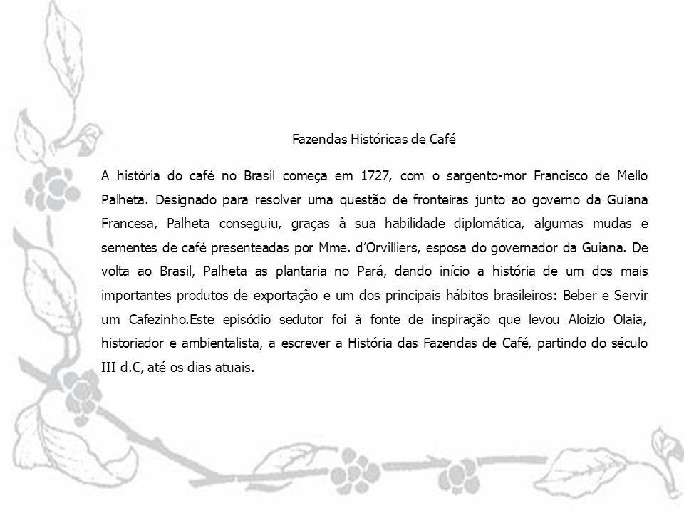 Fazendas Históricas de Café