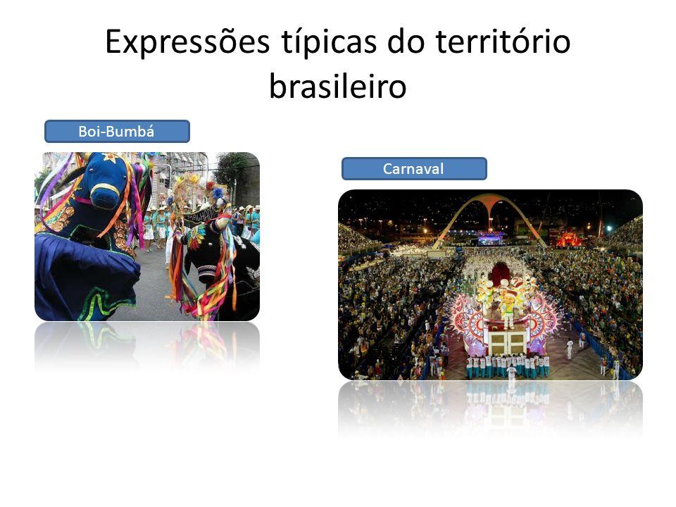 Expressões típicas do território brasileiro