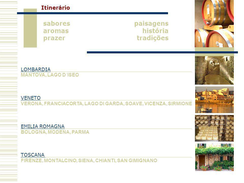 sabores aromas prazer paisagens história tradições Itinerário