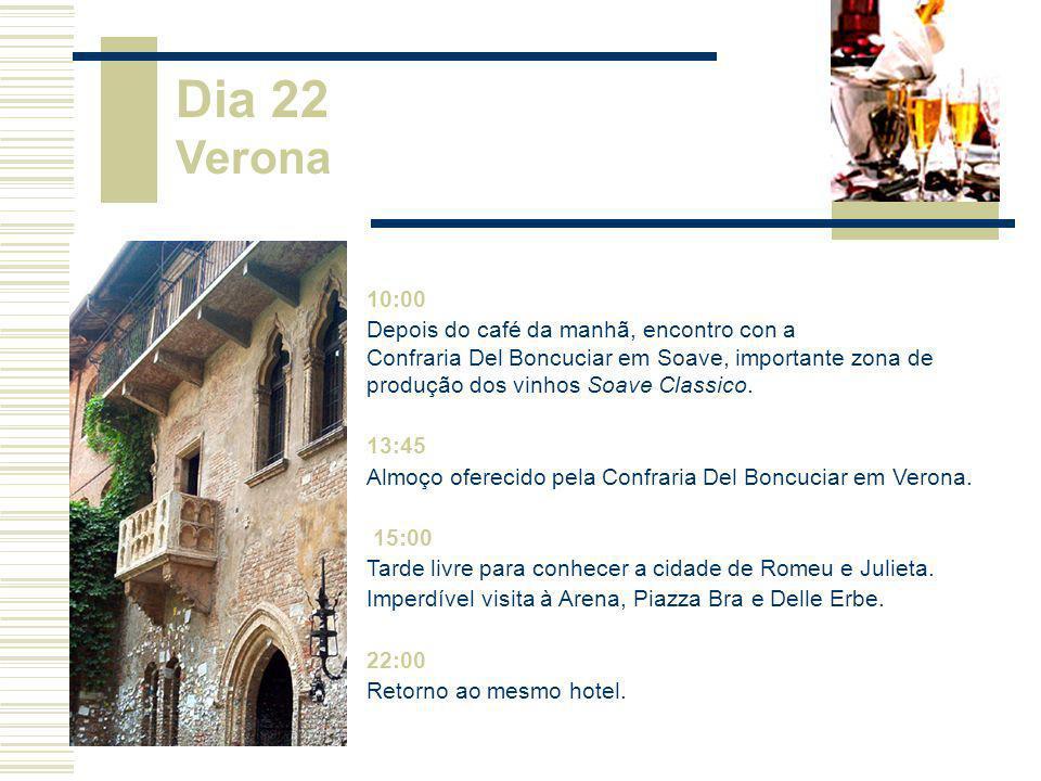 Dia 22 Verona 10:00.