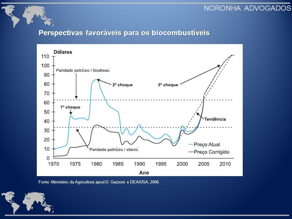 Perspectivas favoráveis para os biocombustíveis