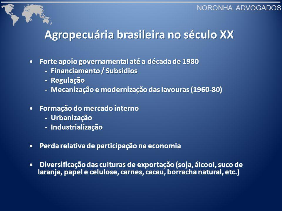 Agropecuária brasileira no século XX