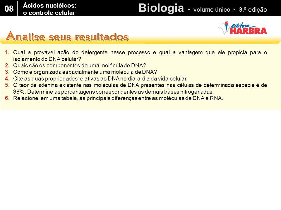 08 Ácidos nucléicos: o controle celular