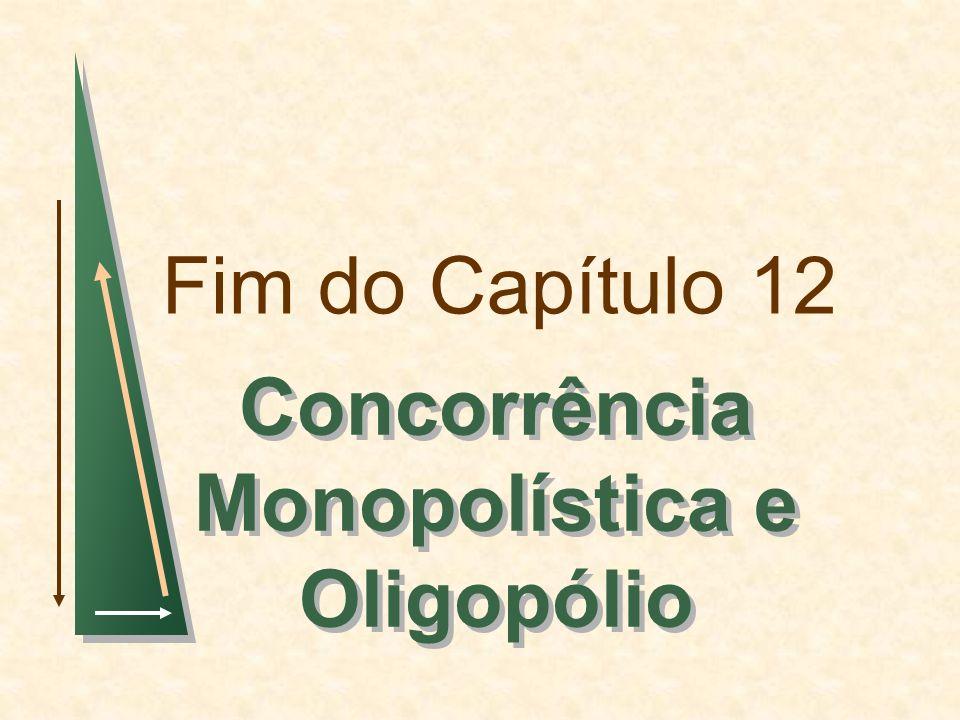 Concorrência Monopolística e Oligopólio
