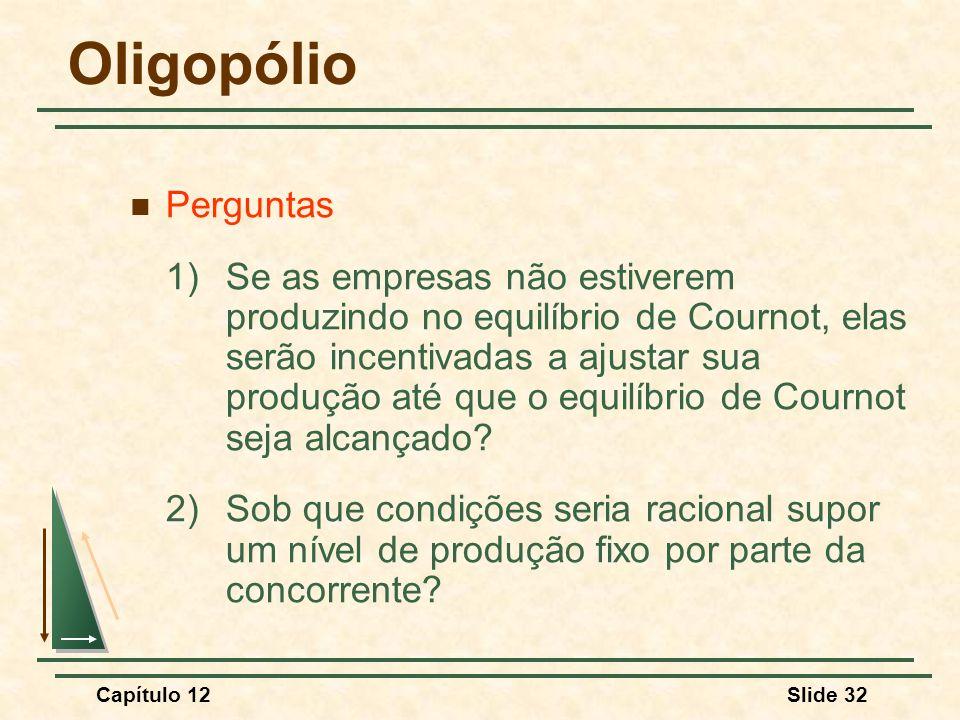 Oligopólio Perguntas.
