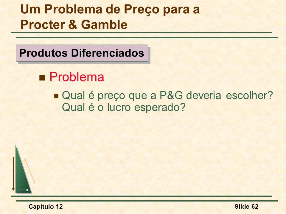 Um Problema de Preço para a Procter & Gamble