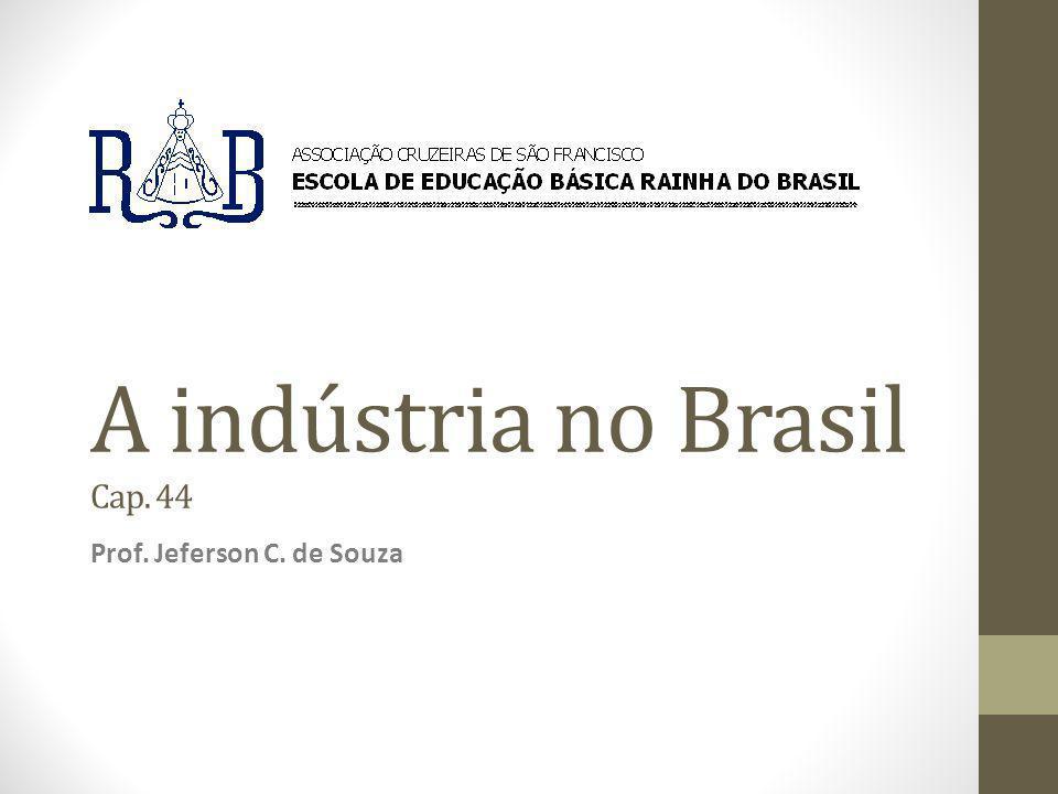 A indústria no Brasil Cap. 44