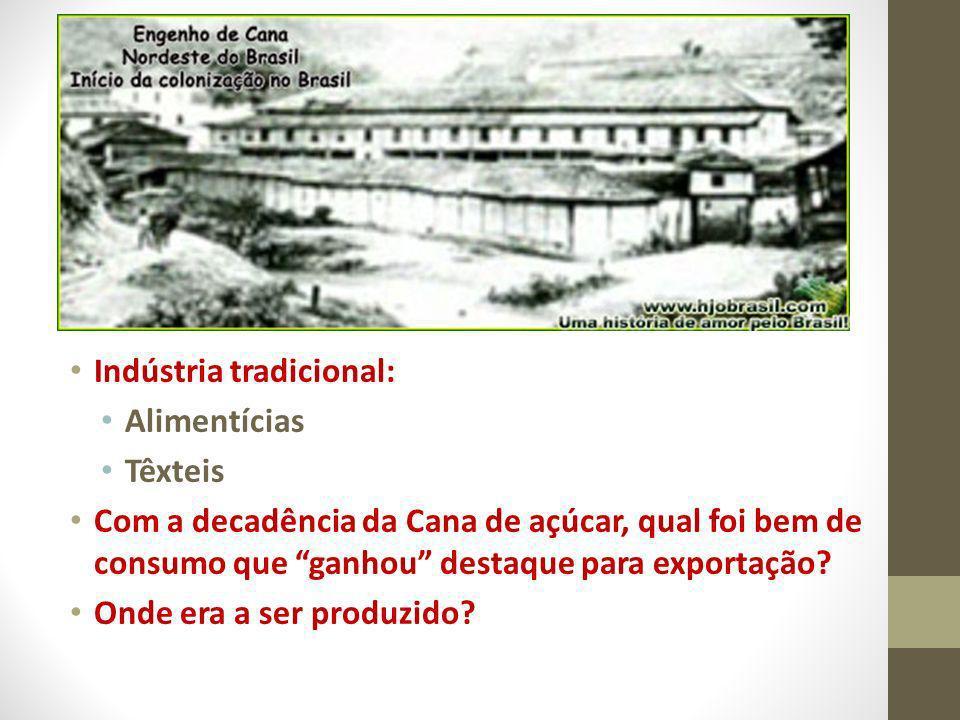 Indústria tradicional: