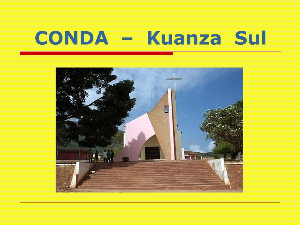 CONDA – Kuanza Sul