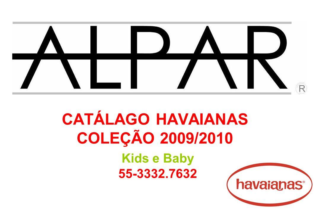 CATÁLAGO HAVAIANAS COLEÇÃO 2009/2010