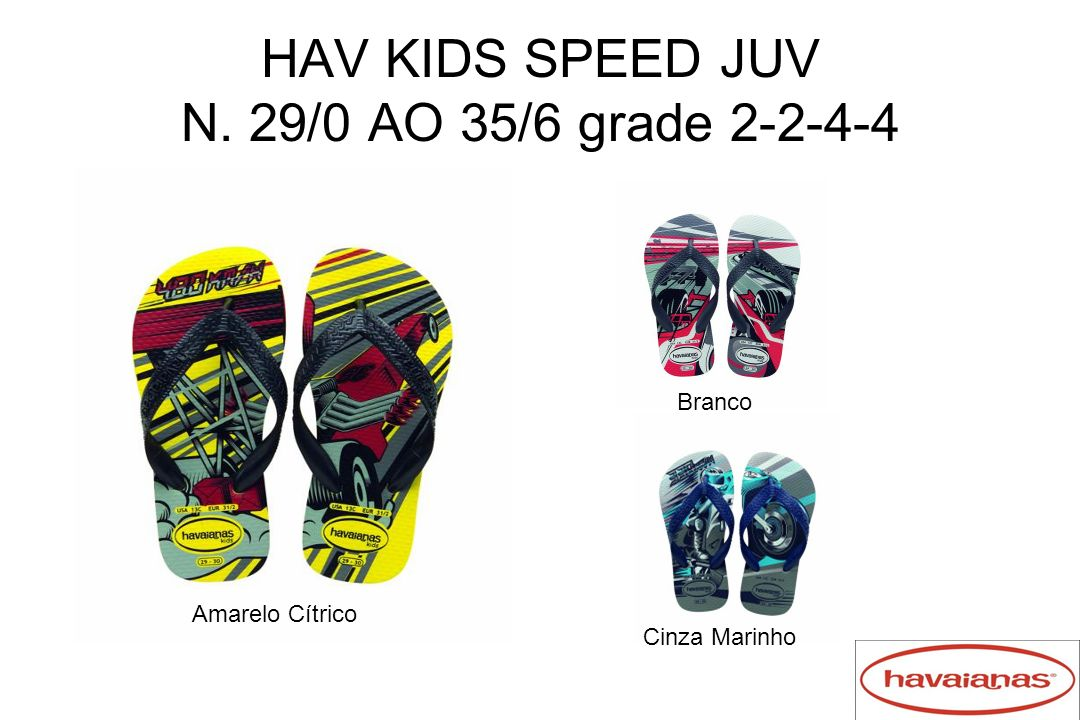 HAV KIDS SPEED JUV N. 29/0 AO 35/6 grade 2-2-4-4