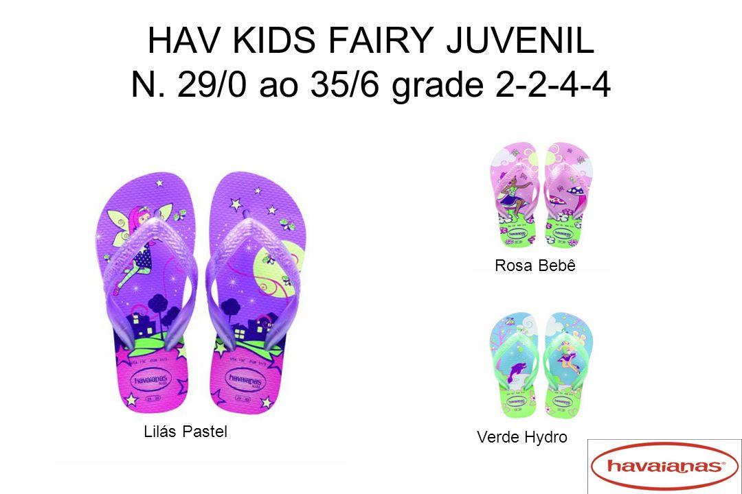 HAV KIDS FAIRY JUVENIL N. 29/0 ao 35/6 grade 2-2-4-4