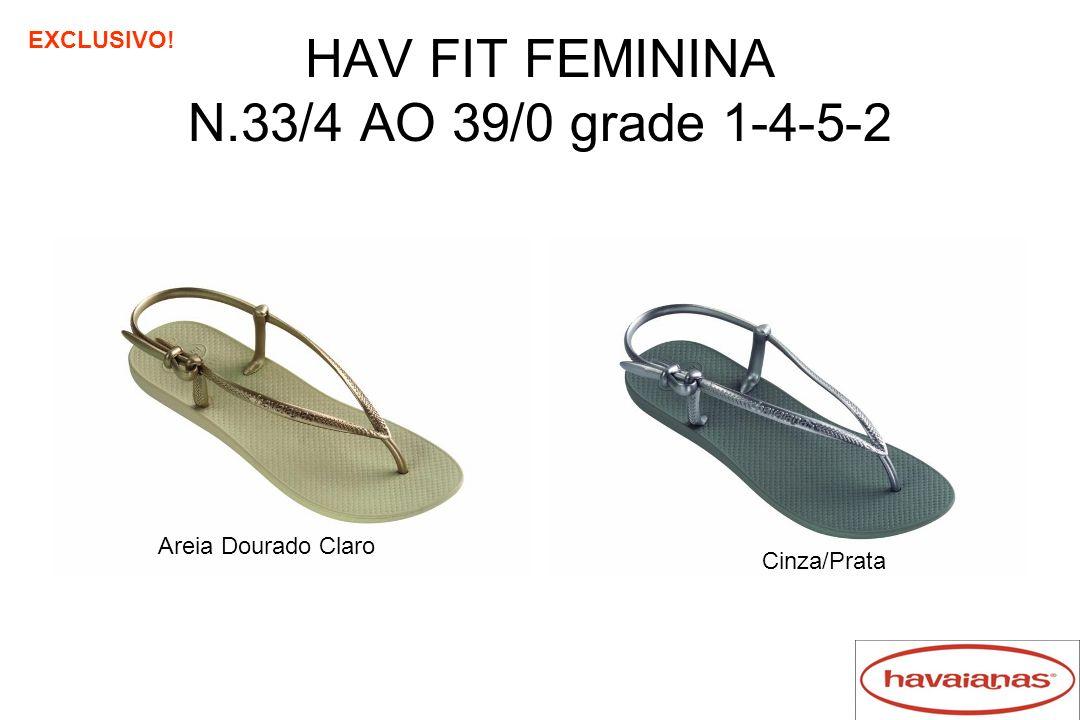 HAV FIT FEMININA N.33/4 AO 39/0 grade 1-4-5-2