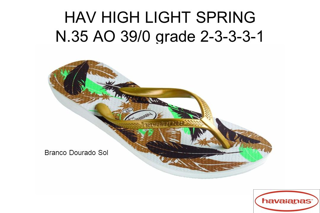HAV HIGH LIGHT SPRING N.35 AO 39/0 grade 2-3-3-3-1