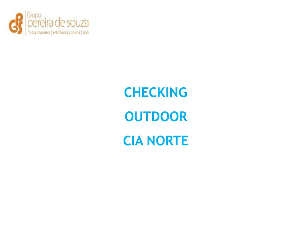 CHECKING OUTDOOR CIA NORTE